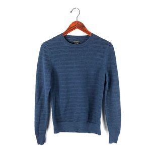 All saints sweater eden pullover knit xs blue